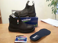 Blundstone CSA Safety Toe Black Work Boot US Womens Size 10