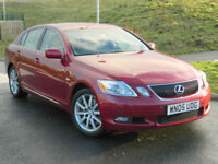 2005 05 REG LEXUS GS 300 3.0 CVT SE WITH FLSH+1 PREV/OWNER+TOP SPEC++