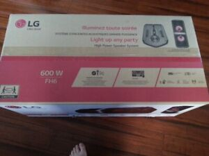 NEW LG FH6 BLUETOOTH POWERFUL SPEAKER IN BOX MINT UNOPENED!!!