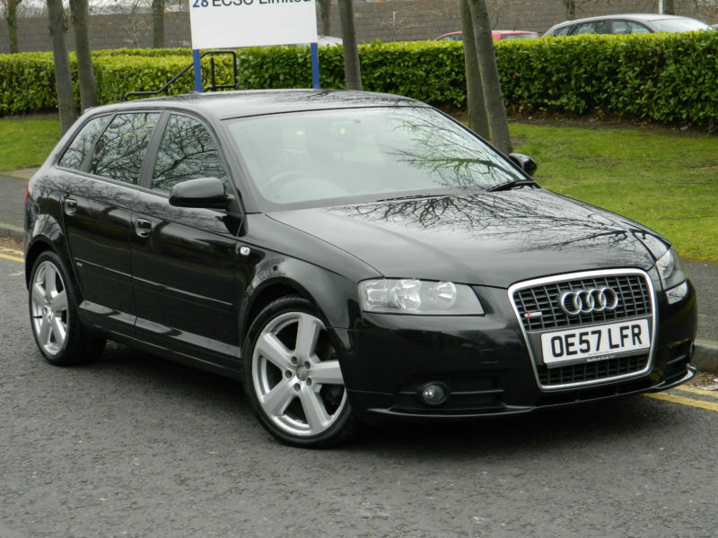 2007 57 reg audi a3 2 0tdi 170 sportback 5dr quattro s line in bradford west yorkshire gumtree. Black Bedroom Furniture Sets. Home Design Ideas