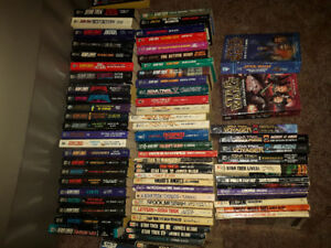 Star trek paperback novels