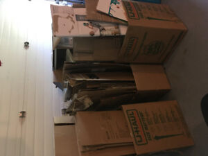 LOTS of Moving Boxes