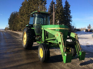 4430 John Deere with quick attach loader