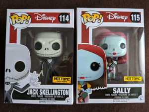 BNIB - Funko Pop Hot Topic Exclusive Jack and Sally