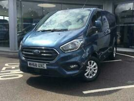 Ford TRANSIT CUSTOM 300 L1 DIESEL FWD 2.0 EcoBlue 130ps Low Roof Limited
