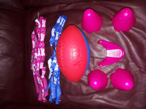 Used great condition nerf football tag set with 12 tags