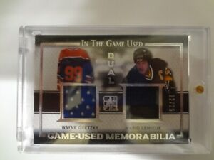 16/17 IN THE GAME WAYNE GRETZKY GAME-USED 12/25