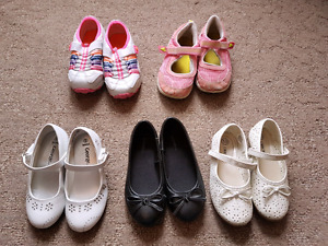 Lot of girls shoes sz. 9-11