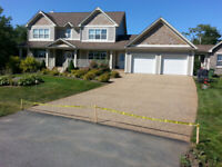 PROFESSIONAL EXPOSED AGGREGATE DRIVEWAY SEALING