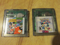 Nintendo GAMEBOY COLOR Mickey Mouse + Pokemon Puzzle Video Game