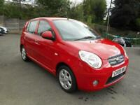 2009 Kia Picanto 1.1 Red 5dr HATCHBACK Petrol Manual
