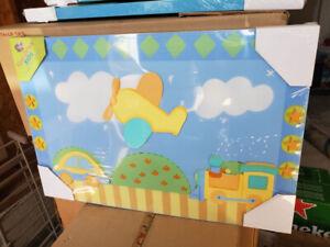Wall Art Canvas- Children Room and Nursery