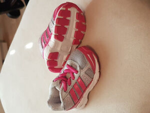 Infant girls Adidas sneakers