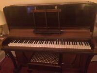 Alphonse Cary upright piano