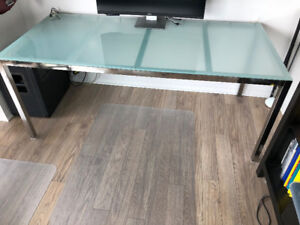 Ikea Torsby Dining Table (Tempered Glass Top)