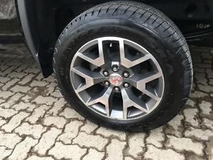 New 2017 Sierra Denali Rims and Tires