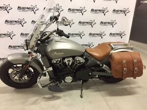 2015 Indian Motorcycle Scout Silver Smoke