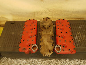 Stock flathead heads and intake with holley