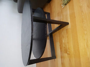 Black brown coffee table from Ikea