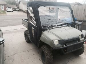 2008 polaris ranger 700 with cab