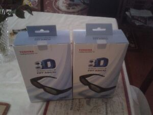 Toshiba active 3D glasses New
