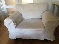 IKEA armchair with removable covers X 2