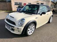 04 MINI COOPER S 1.6 3DR WHITE LOW 82K ONE OWNER JOHN COOPER WORKS KIT PX-SWAPS