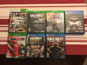 Xbox One & PS4 Games - Prices in Description