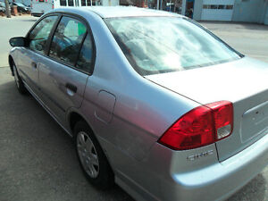 2005 Honda Civic Sedan sold with a valid safety certificate