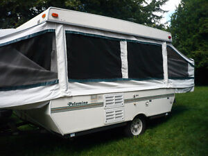 Palomino Filly Tent Pop Up camper trailer