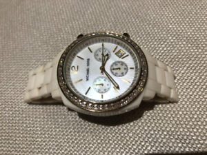 Michael Kors Chrono White Women's Watch