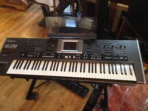 Roland G70 Workstation 76 Note Semi-weighted Keys