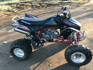 07 Honda Trx450 race quad