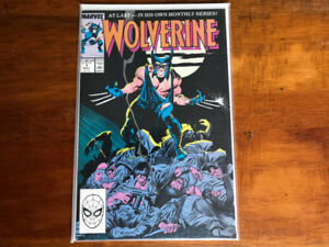 Wolverine 1988 Comics Lot (inc. #1, Kitty Pryde & Wolverine '84)