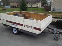 Old Tent Trailer,now Utility Trailer