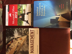 First year Lakehead university business books