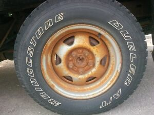 "15"" Tires off Ford Ranger - nearly new"