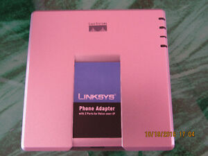 Linksys PAP2T Internet Phone Adapter with 2 VoIP Ports unlocked