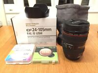 Canon EF 24-105 f/4L IS USM Camera Lens