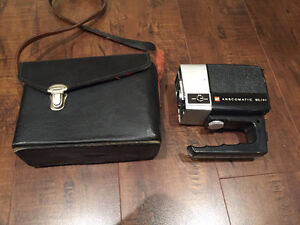 Vintage Collectible GAF. Anscomatic SC/91 Super 8 Movie Camera