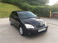 **TOYOTA COROLLA COLOUR COLLECTION VVT-I 1.4 PETROL 5DR (2006 YEAR)**