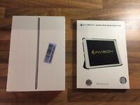 iPad Air 2 16gb wifi space graywith case.