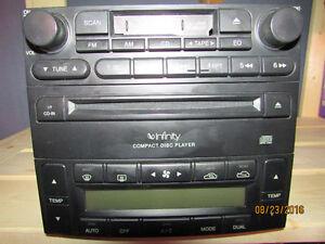 Infinity brand CD player