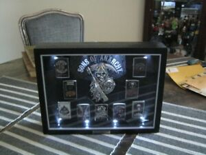 Sons Of Anarchy and 153 Zippo and reg Lighter Collection