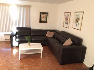 Downtown Montreal FULLY FURNISHED 2 bedroom condo for SHORT-TERM