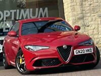 2020 Alfa Romeo Giulia V6 BITURBO QUADRIFOGLIO Auto Saloon Petrol Automatic
