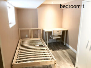Rooms for rent near McMaster ( 1 year lease from May 1, 2018 )