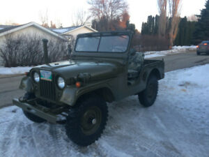1971 Canadian Military Jeep