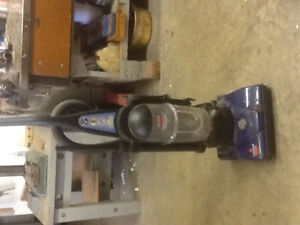 Bissell bag less upright