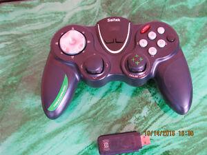 Saitek P9000 First Person Shooter wireless gamepad controller